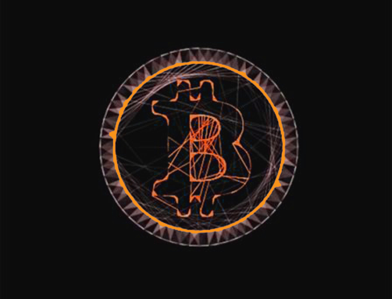 bitcoin-art orange