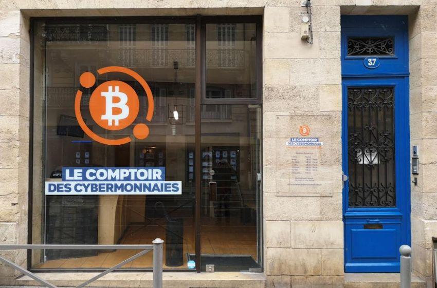 Cryptomonnaies ouverture d un comptoir à bordeaux u bitcoin