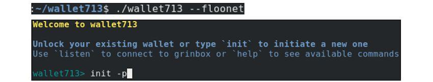 Guide des transactions Grin sur le réseau de test « floonet